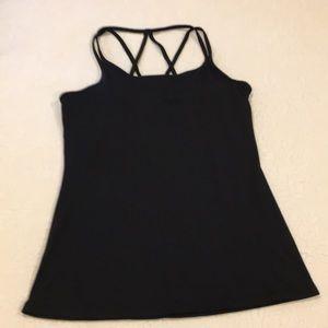 Gaiam. Black yoga/athletic tank top size medium